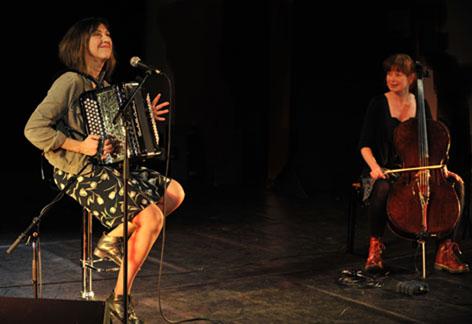 celine caussimon accordéon cecile girard violoncelle