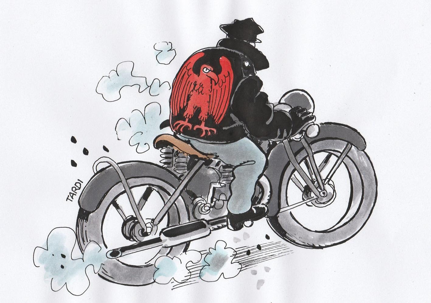 OU EST PASSE L'HOMME A LA MOTO ?